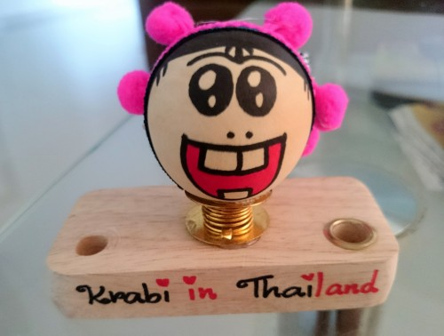 The pen stand we bought as a souvenir from the Walking Street Market near Krabi Town1 (2)