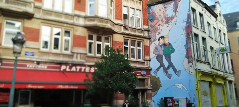 RELIVE YOUR CHILDHOOD WITH TINTIN IN BRUSSELS!