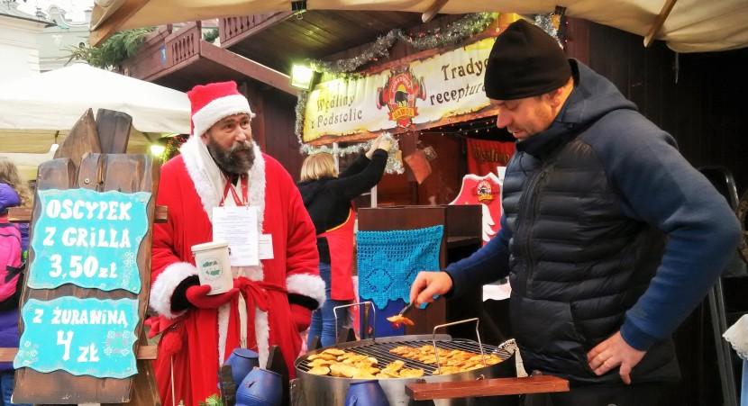 CHRISTMAS MARKET IN KRAKOW,POLAND