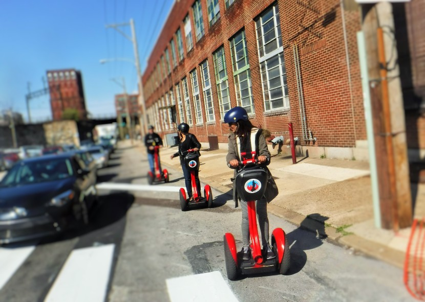 TOURING PHILLY'S MURALS ON SEGWAY