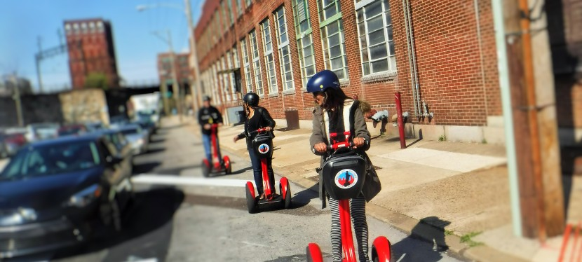 TOURING PHILLY'S MURALS ONSEGWAY