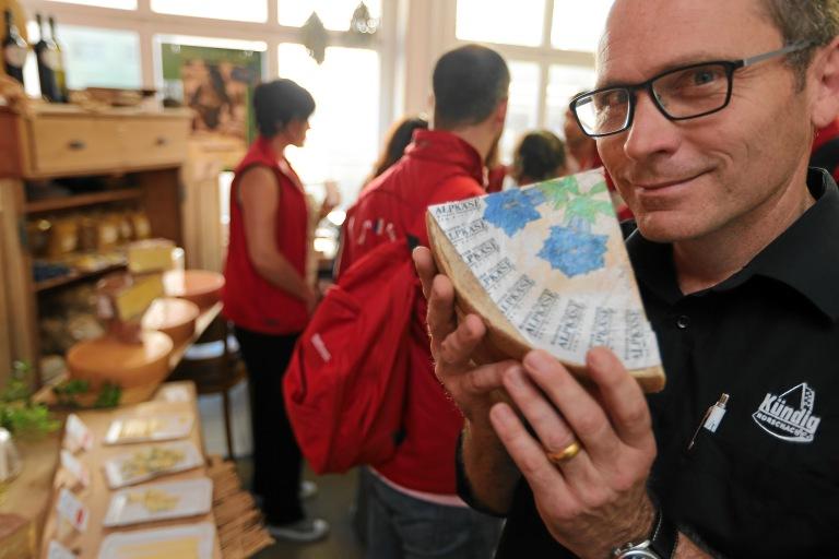 Switzerland Meeting Trophy: Cheese tasting