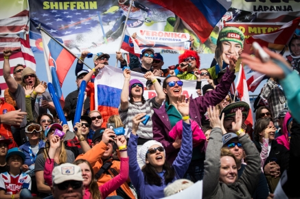The FIS World Cup at Squaw Valley Resort in Olympic Valley, California, March 11, 2017.