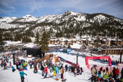 The FIS World Cup slalom at Squaw Valley Resort in Olympic Valley, California, March 11, 2017.