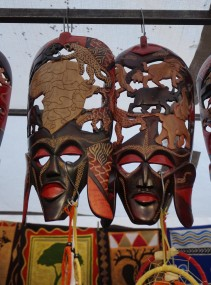 Masks at GREENMARKET SQUARE