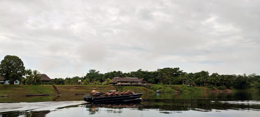 TRAVERSING THE AMAZON RAINFOREST INPERU