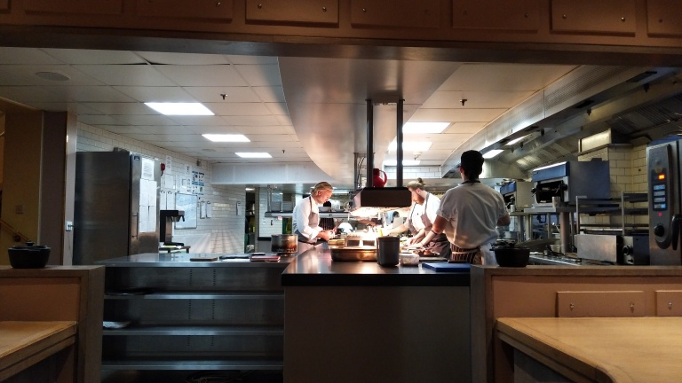chef marcus wareing in action _ chef's table at gilbert's scott
