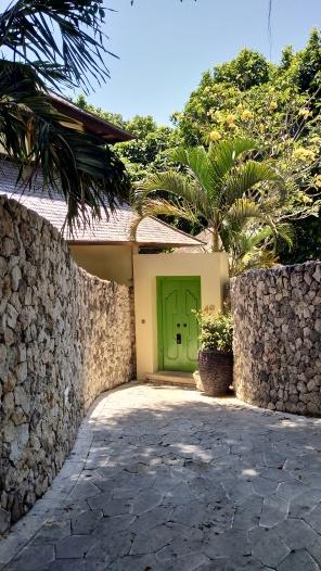 Villa entrance Karma Kandara
