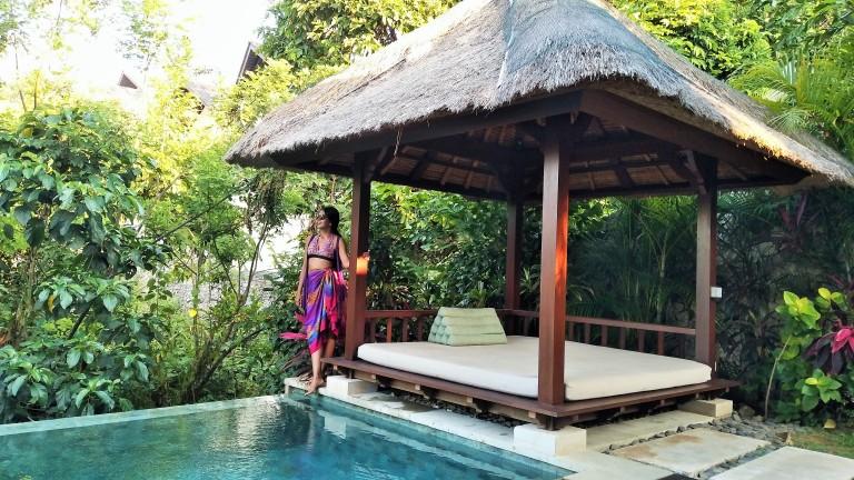 Villa with a private pool at Karma Kandara