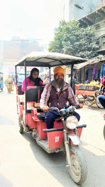 Amritsar's version of auto rickshaws