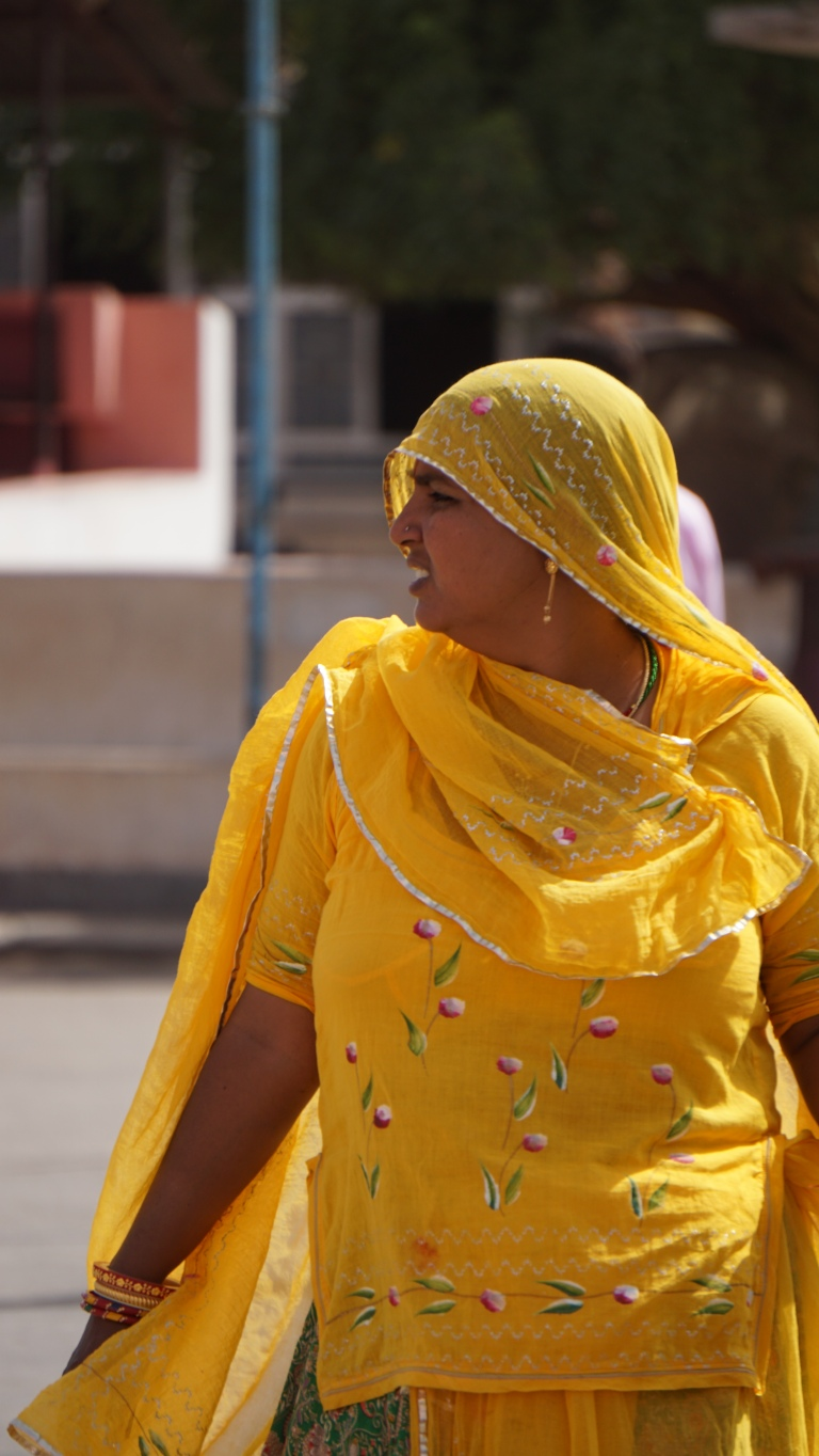 Local woman in Bikaner
