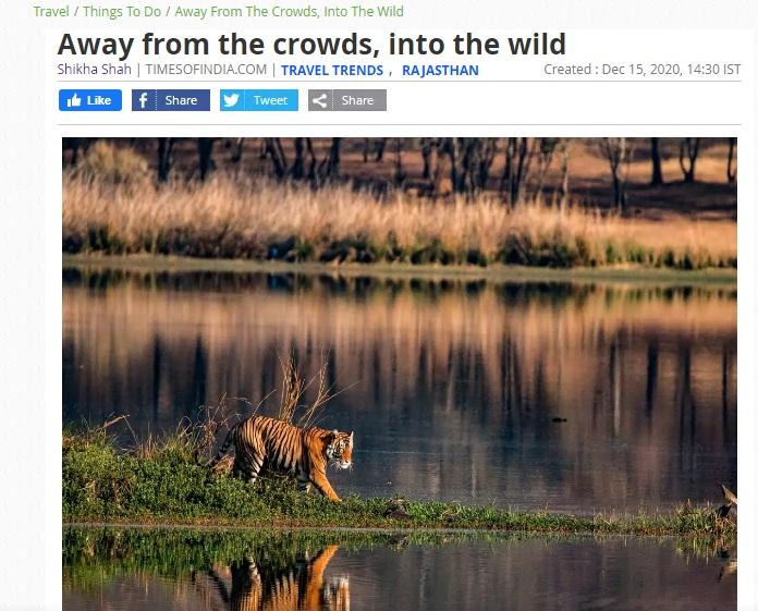 wildlife rajasthan